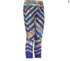 NWT Athleta Kaleidoscope Sonar Capri, Purple Paradise, LARGE (L), Gym, Train $79
