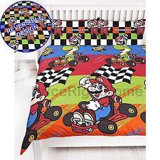 Nintendo Mario Champs Single Duvet Cover Set Bedding Kids Boys 2 in 1 Designs
