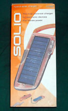 NEW Solio Hybrid Portable H1000 Solar Charger Cell Phone Hunting off grid Camp