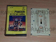 Al Pie Del Cañon by Panzer (Cassette) TAPE MADE IN ARGENTINA