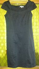 WOMENS Sz 10 black TEMT dress LOVELY! ZIPS AT BACK!
