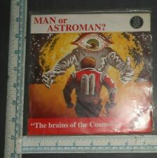 """SURF ROCK 7"""" 45 - MAN OR ASTROMAN - THE BRAINS OF THE COSMOS EP 1994"""