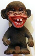 VINTAGE FIGURE BOBBLE HEAD MONCKEY TROLL TROLLS  HEICO MADE IN GERMANY 1960s