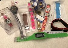 Small Joblot Of Watches / Watch Straps All New.
