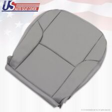 2007 2008 Toyota 4Runner Front Driver Bottom Synthetic Leather Seat Cover Gray
