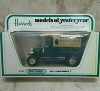 MODELS OF YESTERYEAR Y12-3 1912 MODEL T HARRODS 1:35 ISSUE2 NEW!