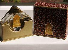 Very rare Drialys Rico Habano perfume bottle & shagreen box 1930s Art Deco Cuba