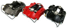 1964-67 FORD MUSTANG FRONT KELSEY HAYS 4 PISTON DISC CALIPERS -RED POWDER COAT