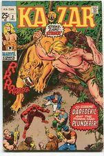 Ka-zar 2 Fine/VF (1970) Marvel Comics CBX201
