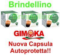 96 CAPSULE CIALDE CAFFE GIMOKA PURO CREMOSO COMPATIBILI NESCAFE DOLCE GUSTO