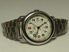 Swiss Army Silver Case Stainless St WR Women's Swiss Watch
