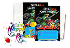 12 Birthday Invitation Cards (12 White Envelops Included) #1