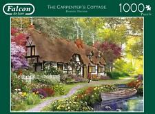 FALCON JIGSAW PUZZLE THE CARPENTER'S COTTAGE DOMINIC DAVISON 1000 PCS #11170