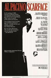 Scarface Al Pacino 35mm Film Cell strip very Rare var_c