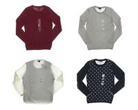 Tommy Hilfiger Women's Long Sleeve Crew Neck Sweater - Choose a size/color