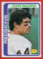 1978 Topps #215 John Riggins PACK FRESH NEAR MINT-MINT+ Washington Redskins