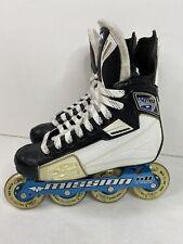 New listing Mission Soldier Inline Hockey Roller Skates Size 6D (6 US Men Shoe/ 7.5 Women