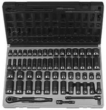 """59 Pc. 3/8"""" Drive 6 Point SAE & Metric Duo-Socket Set GRY-81659CRD Brand New!"""