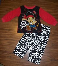Toddler Boys Disney JAKE AND NEVERLAND PIRATES Pajamas Size 2T NEW NWT  MSRP $30