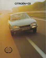 Citroen CX UK Brochure Dec 1975 Includes 2000 2200 Super & Safari Estate Models