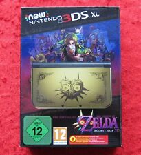 New Nintendo 3ds XL consola Zelda Majora's Mask 3d Limited Edition Pack, nuevo-en su embalaje original