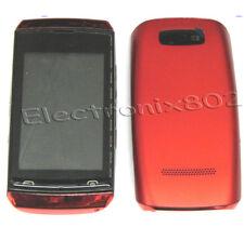 Fascia Housing Battery Cover Screen Lens Keypad For Nokia Asha N305 305 Red UK
