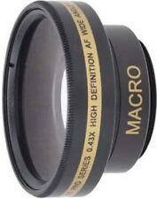 Wide Lens for Sony DCR-SR55 DCR-SR55E HDRCX105E DCR-TRV15 DCR-SR70E DCR-DVD150E