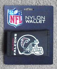 New Atlanta Falcons Football Licensed NFL Sports Wallet Nylon Trifold