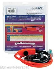 (10) ea Easy Heat Ahb-013 3' Automatic Pipe Heating / Freeze Free Cables