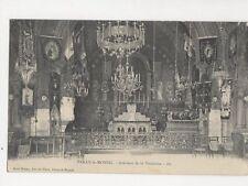 Paray Le Monial Interieur de la Visitation France 1910 Postcard 142a