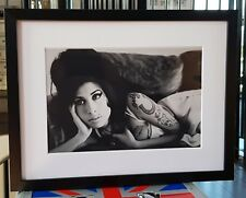 Amy Winehouse-Luxury Box Framed-Incredible QUALITY-Certificate