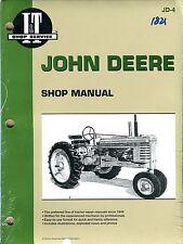John Deere Series A, B, G(sn 13000 up), H, Models D, M and MT repair manual