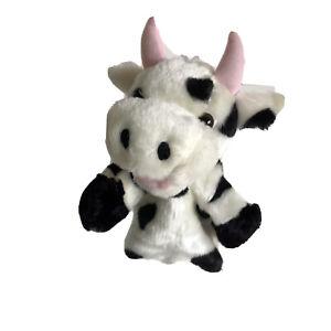 Hand Puppet Cow 28cm Teachers Aid