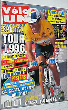 VELO UN CYCLISME PRESENTATION TOUR DE FRANCE  POSTERS CARTE JALABERT + INDURAIN