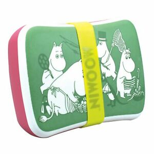 OFFICIAL MOOMIN PICNIC DINNER BAMBOO ECO FRIENDLY BIO DEGRADABLE LUNCH BAG BOX