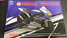 2013 NEW RAY 1/12 SCALE #46 VALENTINO ROSSI 2013 YAMAHA YZR-M1 MOTO GP