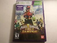 Power Rangers Super Samurai (Microsoft Xbox 360, 2012) Complete CIB Tested