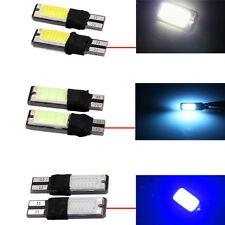 T10 Car Bulbs Led Error  Canbus Smd Cob Ice Blue W5W 501 Side Light3W New