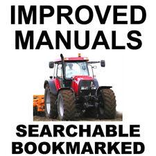 IH CASE MXM Tractors 140 155 175 190 Service Manual MXM140 MXM155 MXM175 MXM190
