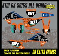 KTM SX 50 65 Graphics Kit-Sticker Kit-Decals-Motocross-MX TLD