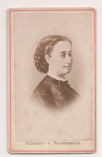 Vintage CDV Empress Eugénie of France Second Empire
