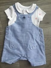 Baby & Toddler Clothing Loyal Boys Dungareesfrom Mothercare Age 12/18months Bottoms