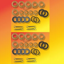 2 Snapper Rider Front End Repair KiT Tightens Up Worn Loose Tie Rods & Steering
