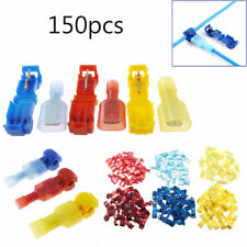 150X T-Taps/Male Insulated Wire Terminal Connectors Combo Set 14-16 10-12 18-22