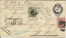 Brazil Postal Envelope HG:B14 uprated Sc#119,#116 BAHAI 23/JUN/99 Registered