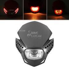 Black LED Headlight Fairing Kit For KTM 125 250 300 450 530 520 525 620 690 950