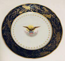 TheDanbury Mint Reproduction Us President Benjamin Harrison Decorative Plate #31