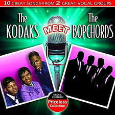 CD Album The Kodaks Meet The Bopchords 10 Greats Songs From 2 Vocal Groups
