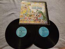 The Wonderful Fantasy of Walt Disney/ 2 Records -Vinyl LP Record Album -CXS-9014