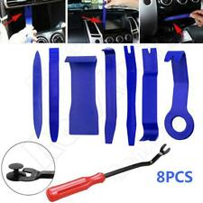8PCS Car Panel Removal Open Pry Tools Kit Dash Door Radio Trim Car Accessories
